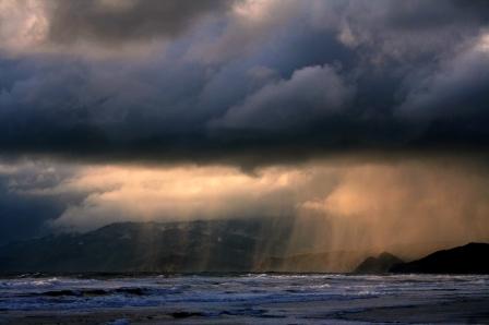 Rain and Ocean  - wikimedia.org